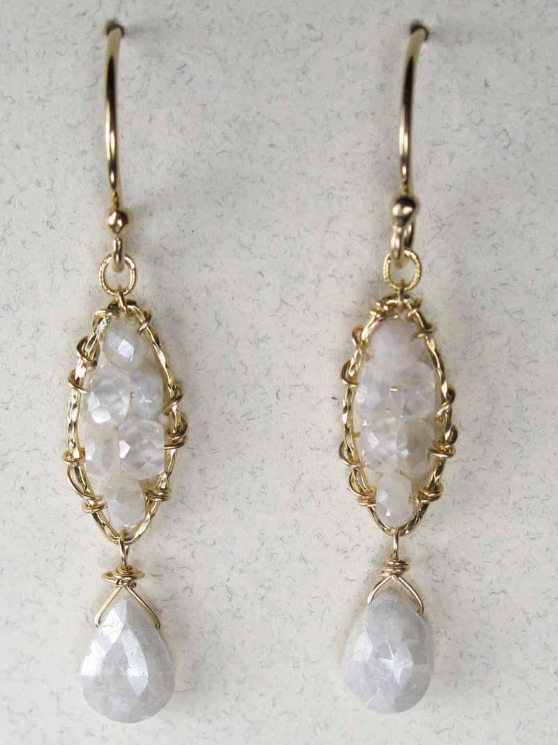 Earrings - Semi-Precious Stones and Pearls