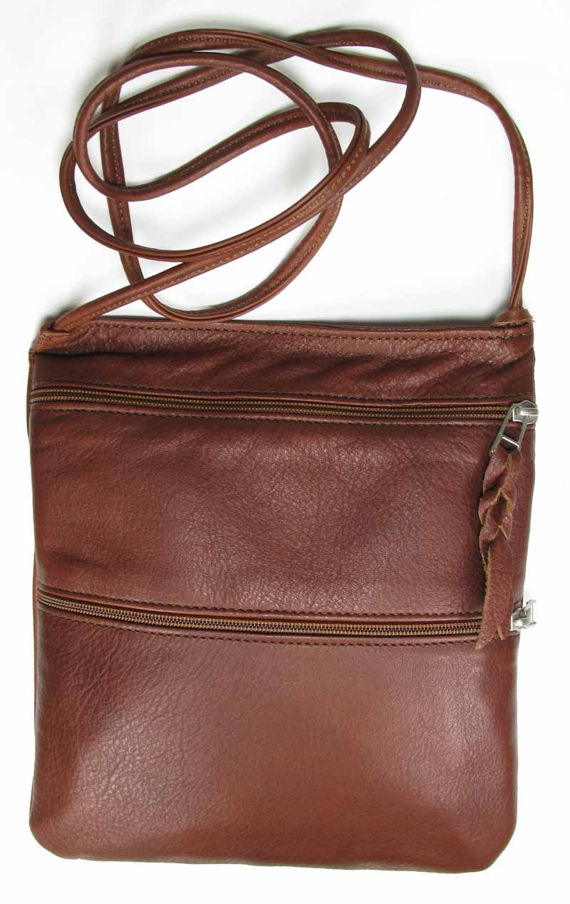Leather Swing Pack in Tan
