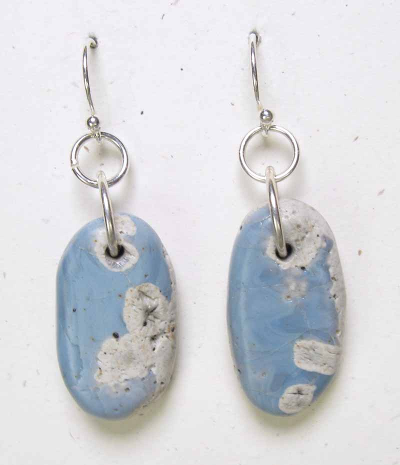 Natural Leland Blue Earrings