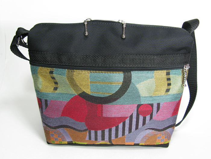 Medium Messenger Bag - Kandinsky Brights