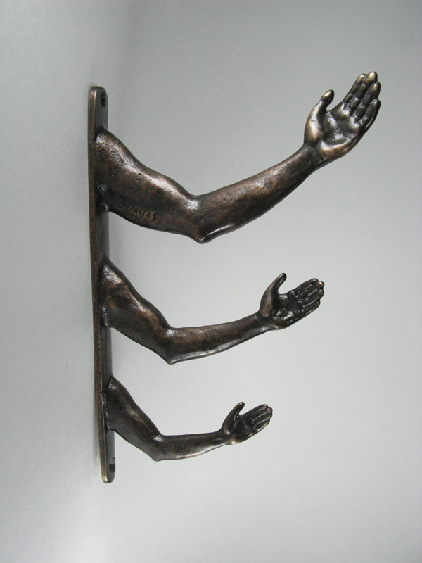 Bronze Triple Arm Hook