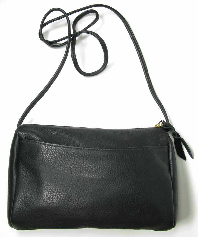 Horizontal Handbag in Black