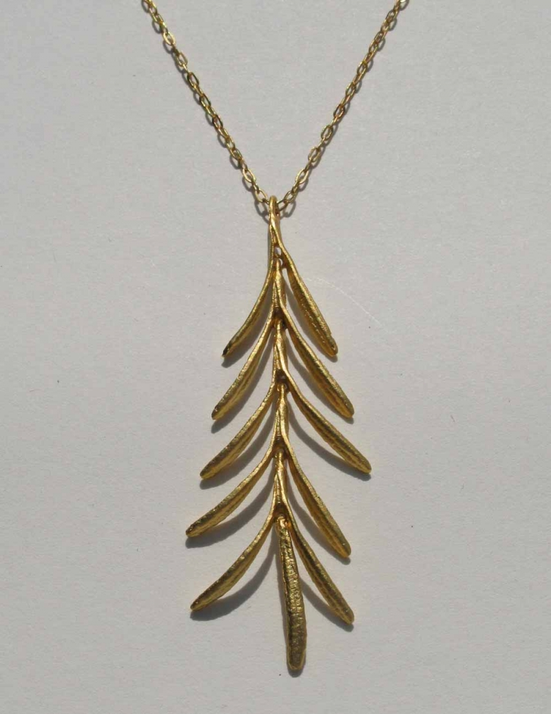 Rosemary Dangle Necklace