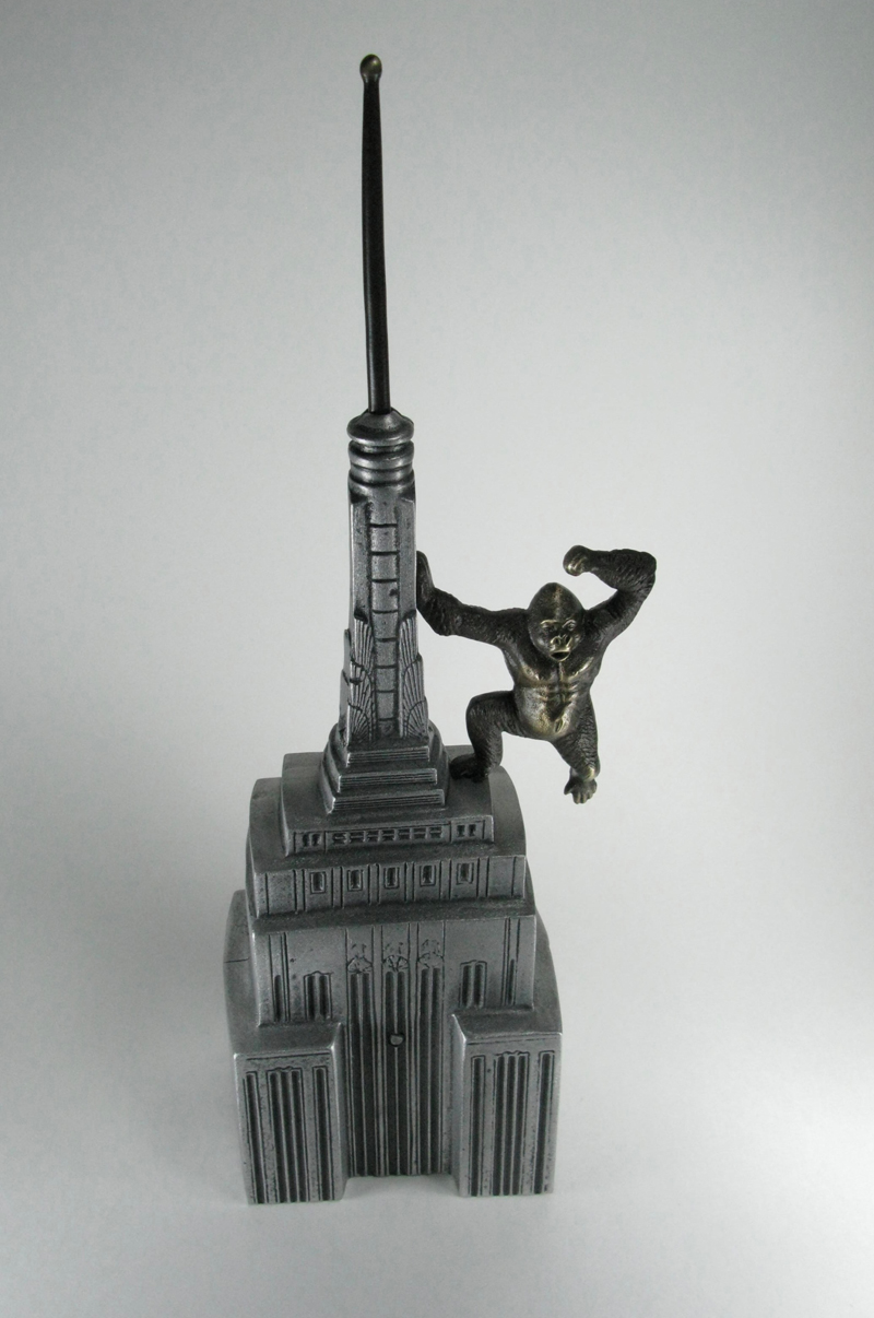 Bronze King Kong Bank