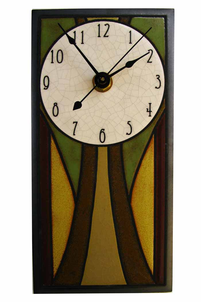Rectangular Wall Clock - Craftsmen Design