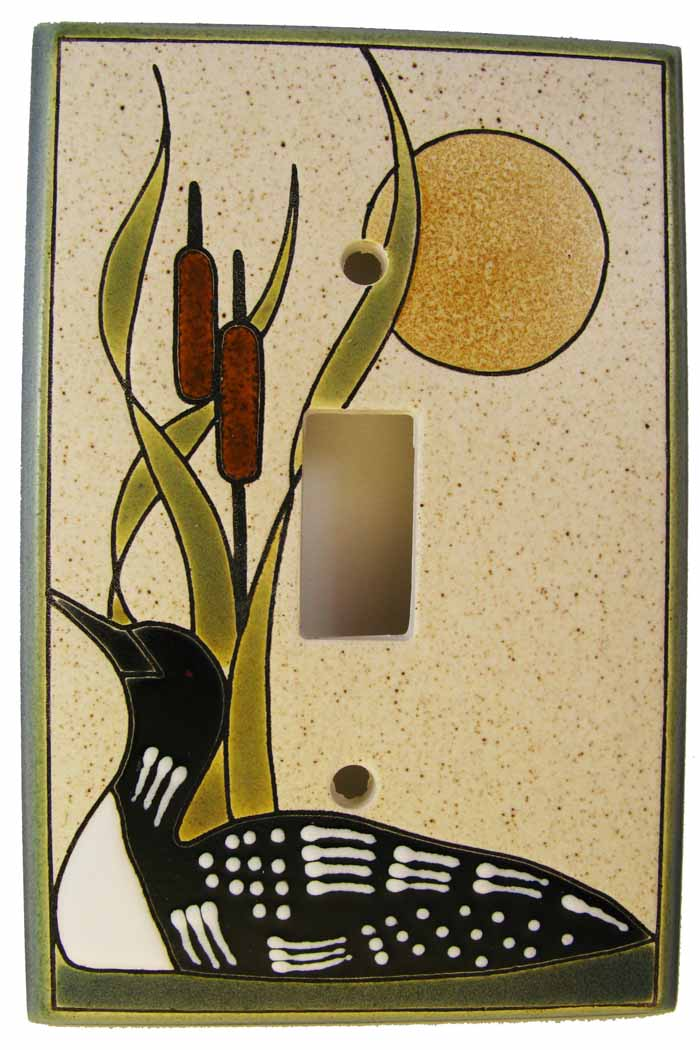 Loon Sand Switch Plate