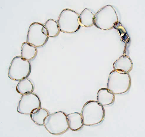Bracelet with Curved Links