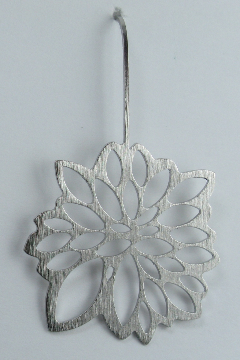 Dahlia Earrings in Stainless Steel