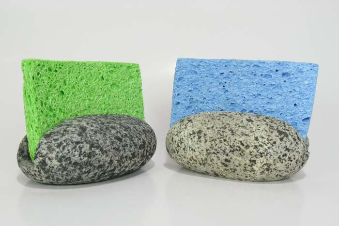 Sponge Holders made of stone!