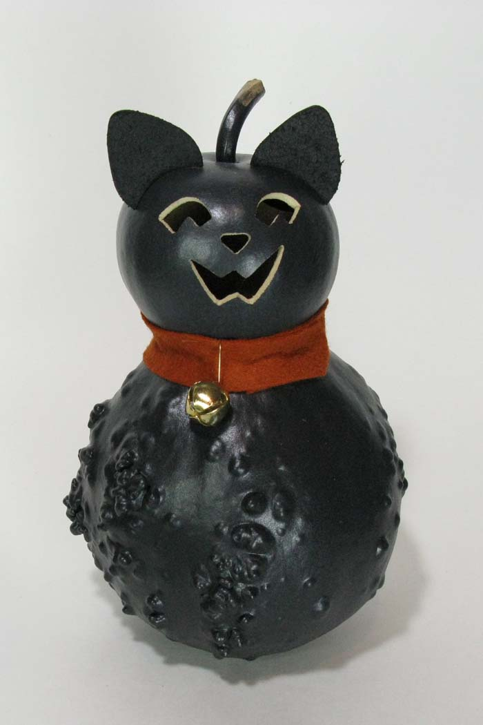 Raven, Small Black Cat Gourd
