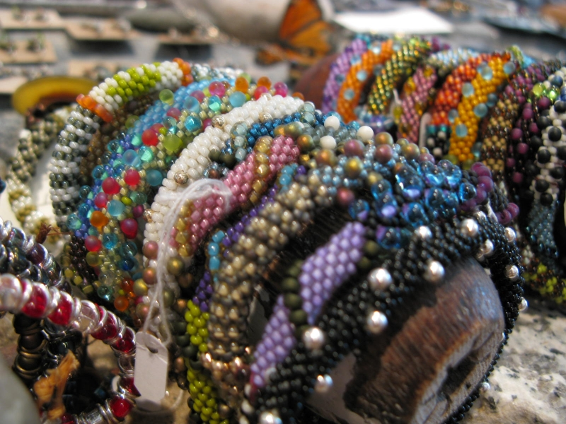 Beaded Bracelets by Suzanne Lubeck