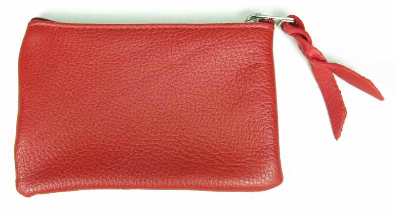 Small Leather Change Purse