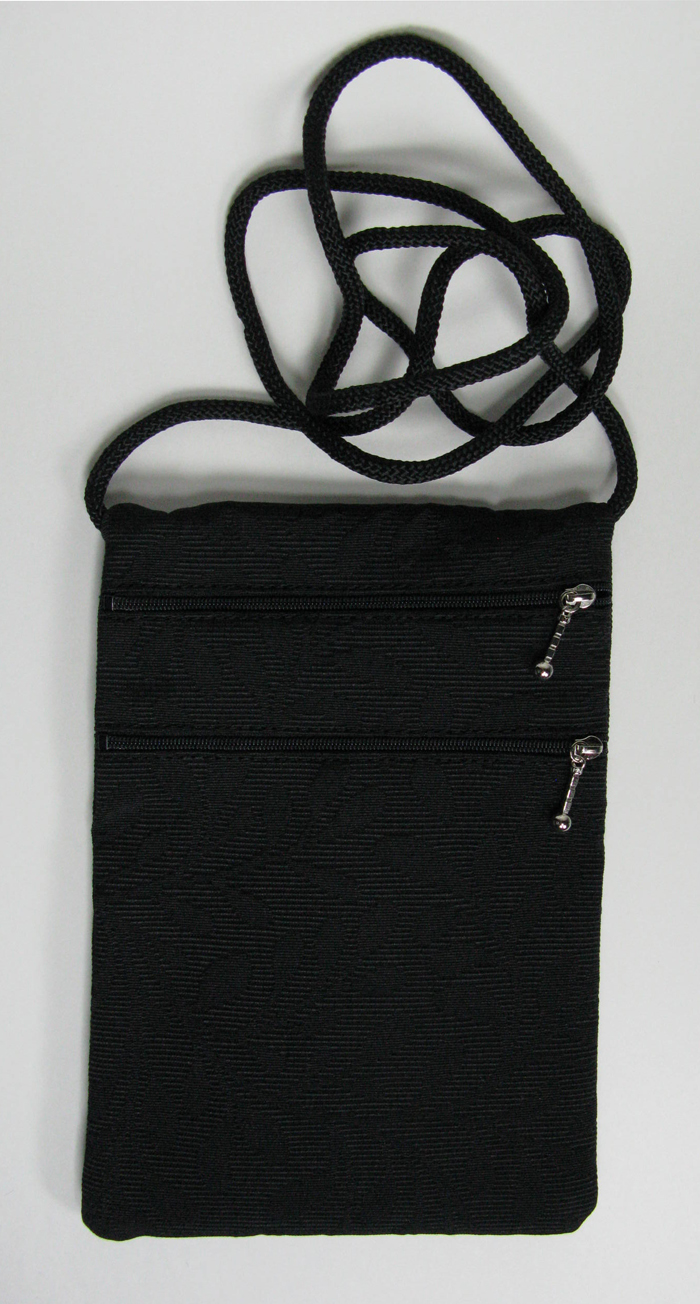 2-Zip Tapestry Bag - 7 x 10