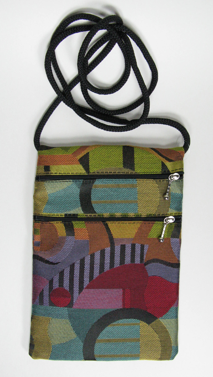 2-Zip Tapestry Bag - 7
