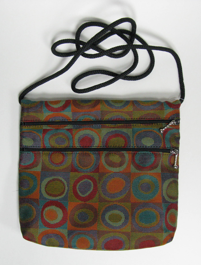 2-Zip Tapestry Bag - 7.5