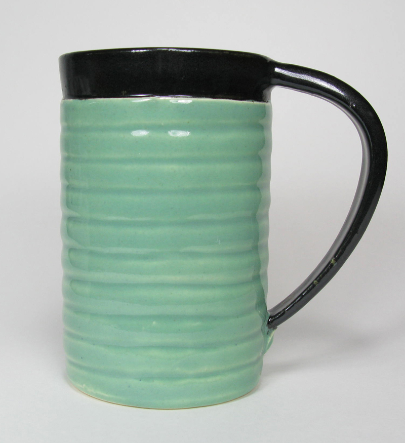 Ceramic Mug in Celadon