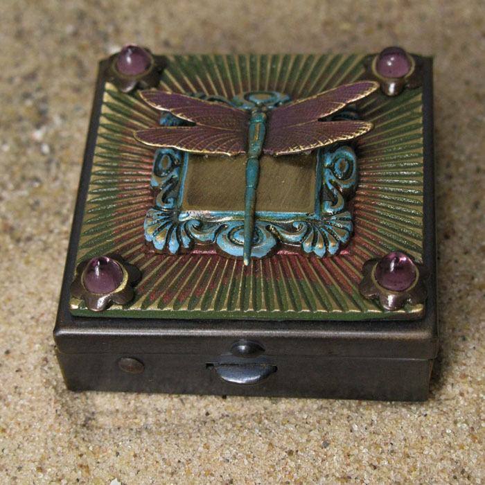 Tiny Box with Dragonfly
