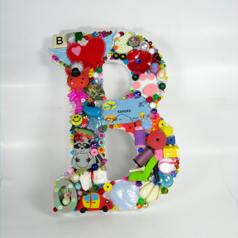 Large Toy Letter B