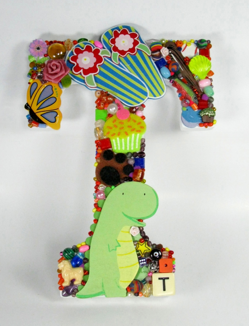 Large Toy Letter T