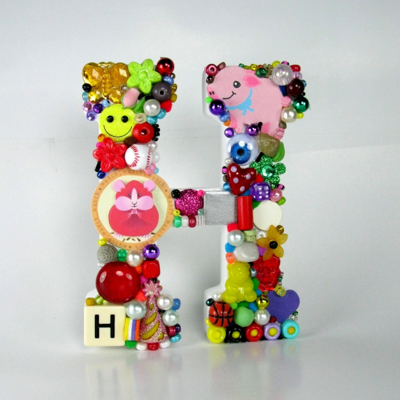 Toy Letter H