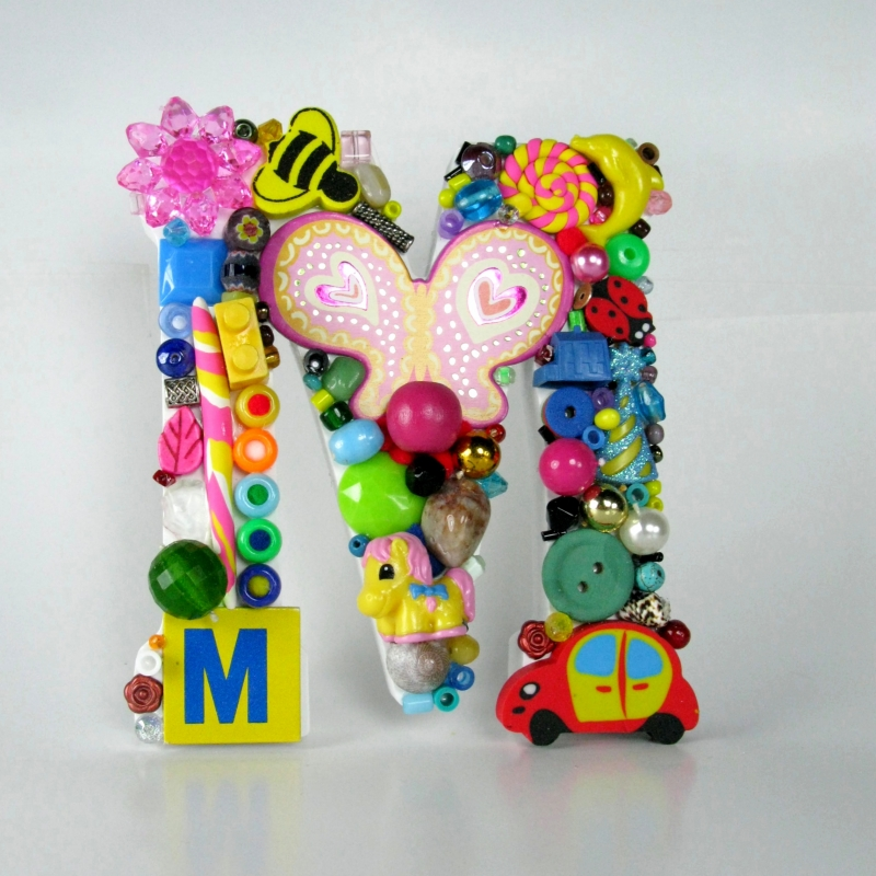 Toy Letter M