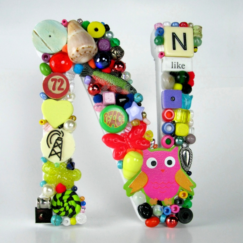Toy Letter N