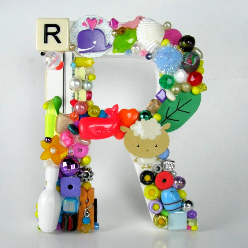 Toy Letter R