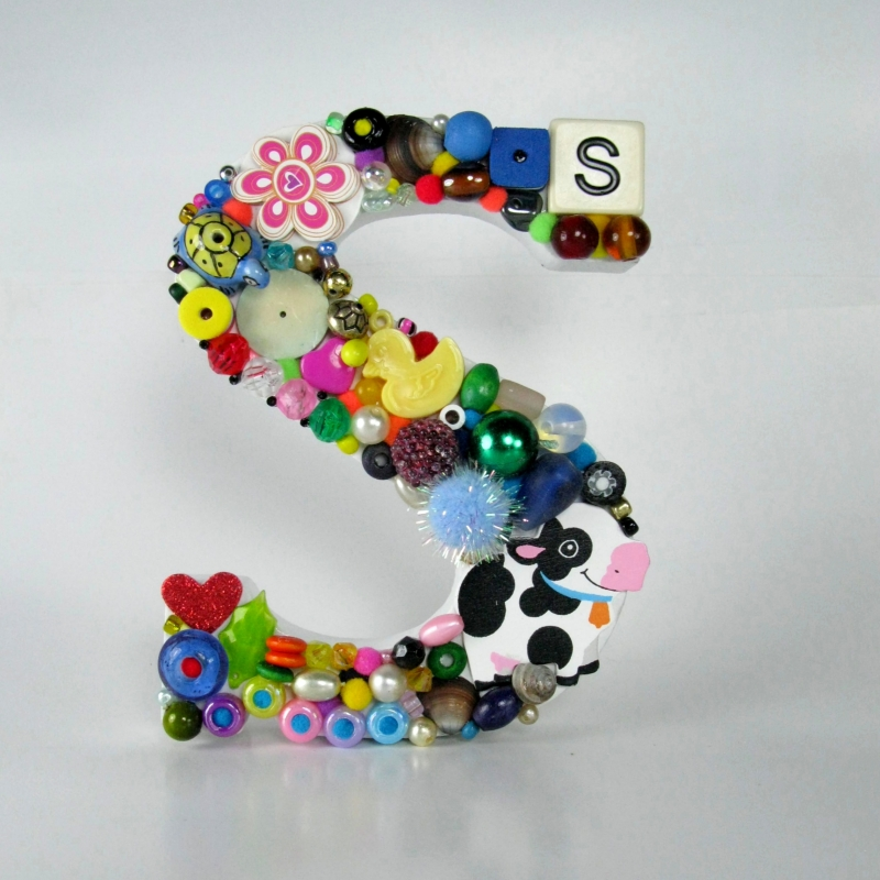 Toy Letter S