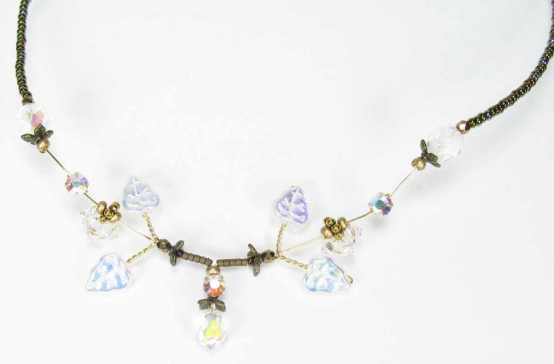 Pixie Necklace in Crystal