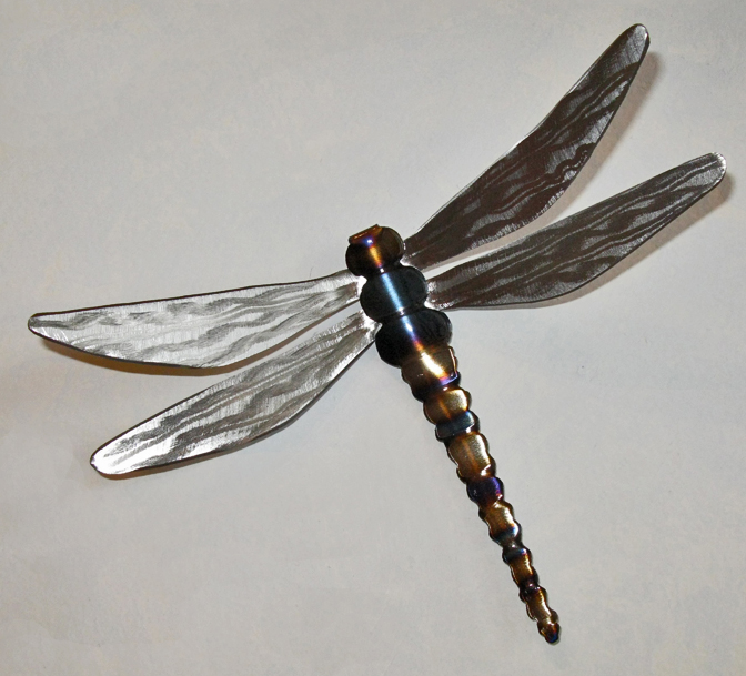 Dragonflies in Steel