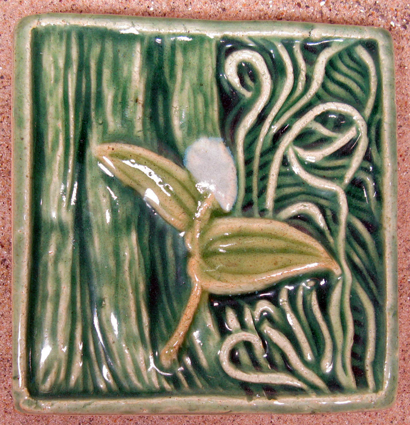 Wild Lily of the Valley Tile