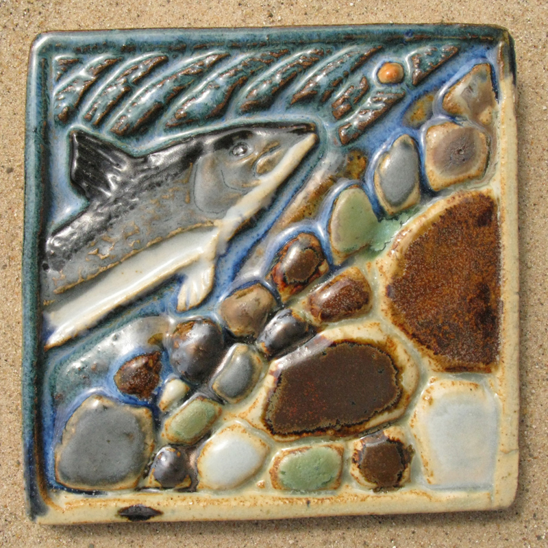 Whitefish and Eggs Tile