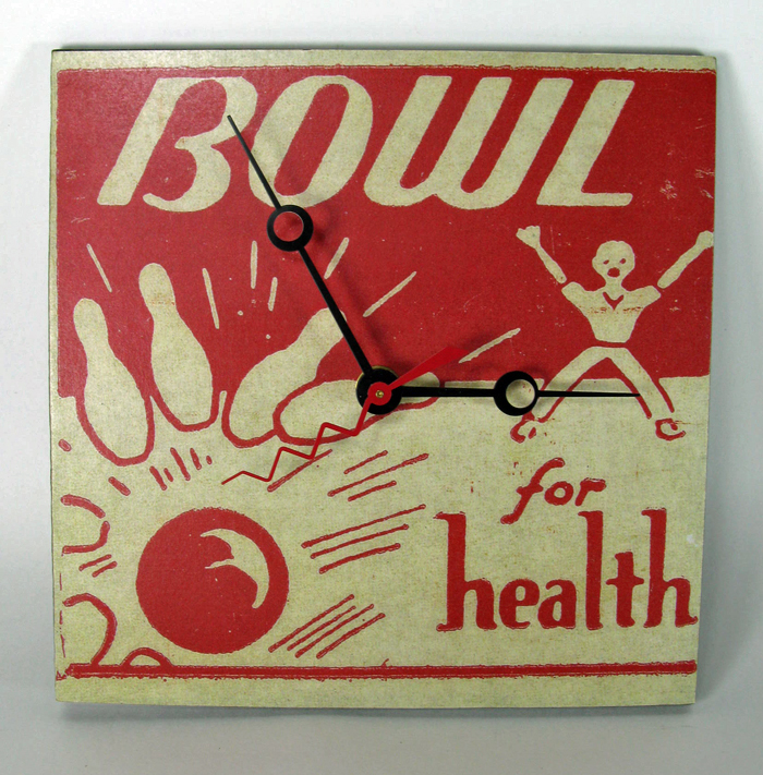 Bowl for Health Clock