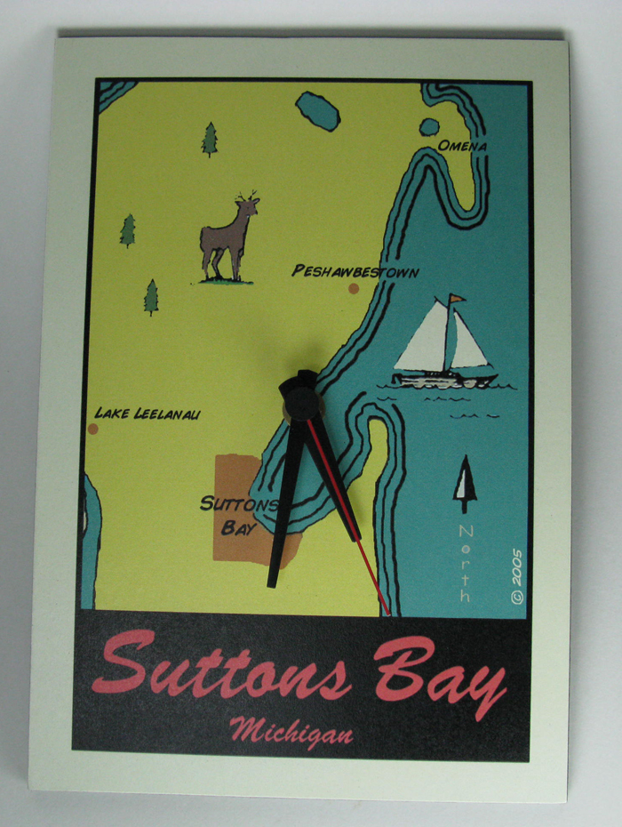 Suttons Bay Clock