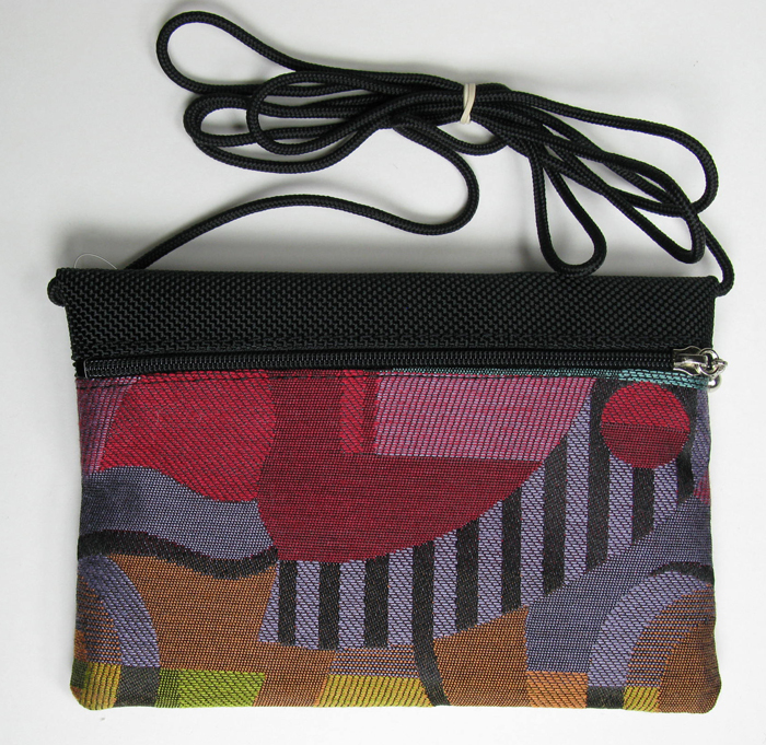 2-Zip Tapestry Bag - 6 1/4