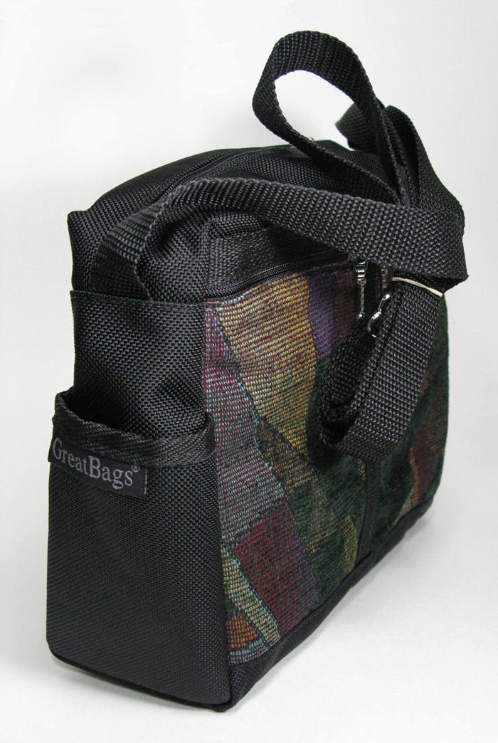 Medium Messenger Bag - Dark Jewels