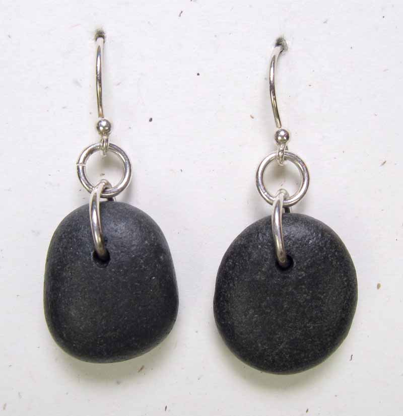 Simple Beach Stone Earring