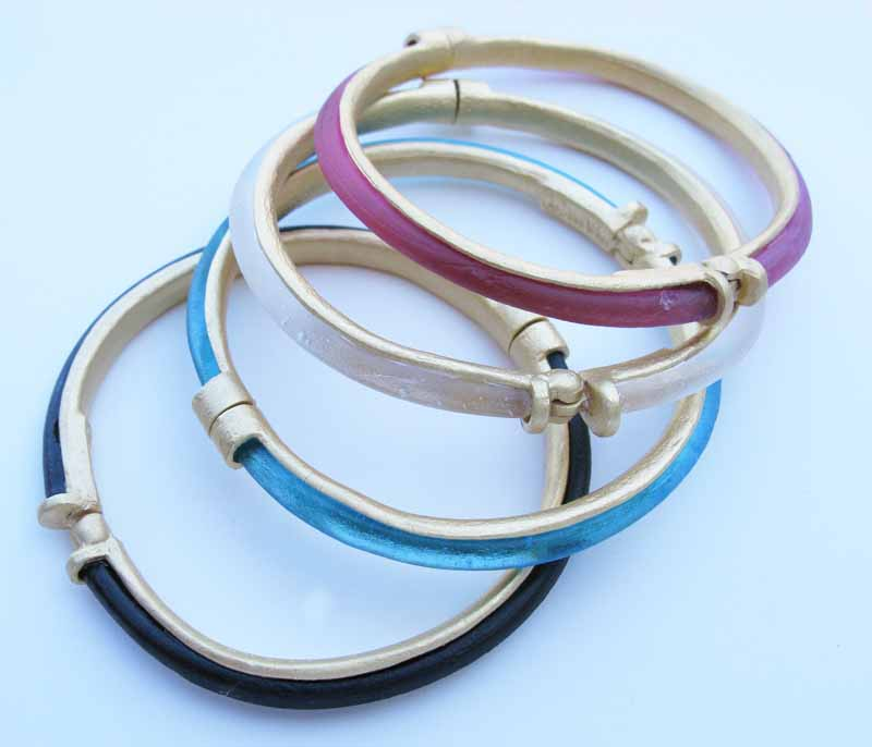 Cast Glass Bangles