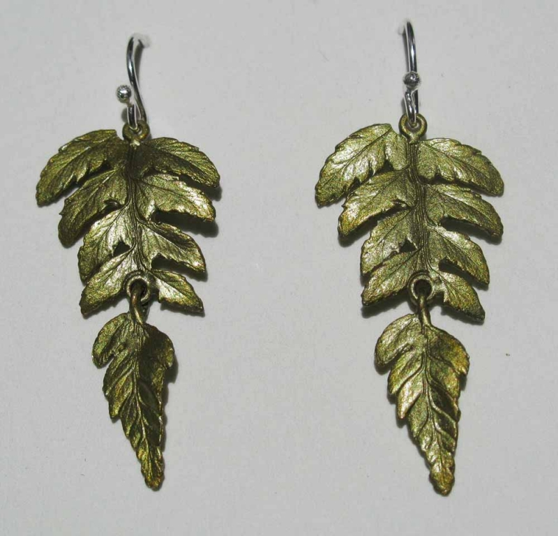 2 Part Fern Earring