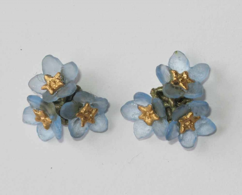 Forget-me-not Bouquet Earrings