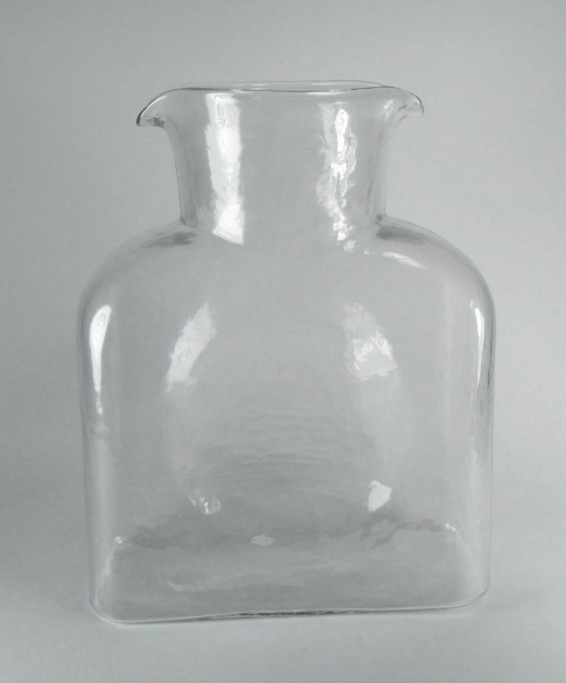 Water Bottle in Clear Glass
