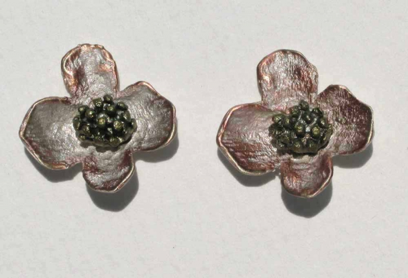 Dogwood Post Earrings