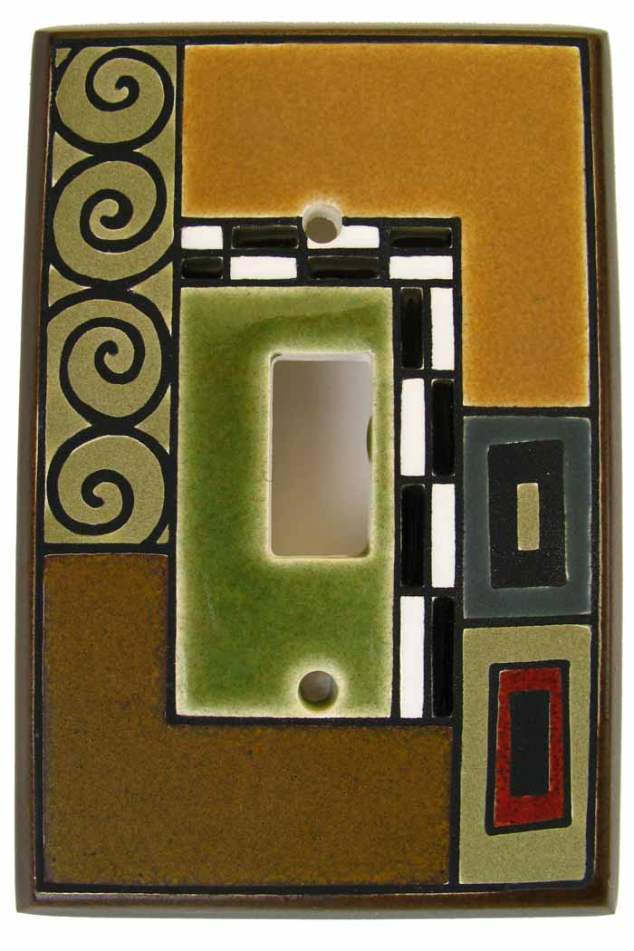 Klimt Switch Plate
