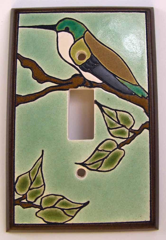 Hummingbird Switch Plate