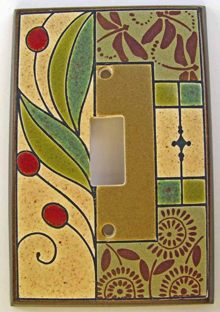 Summer Tapestry Switch Plate