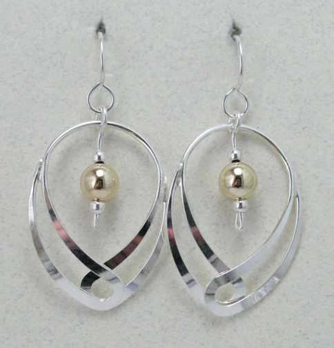 Double Ovals Earrings