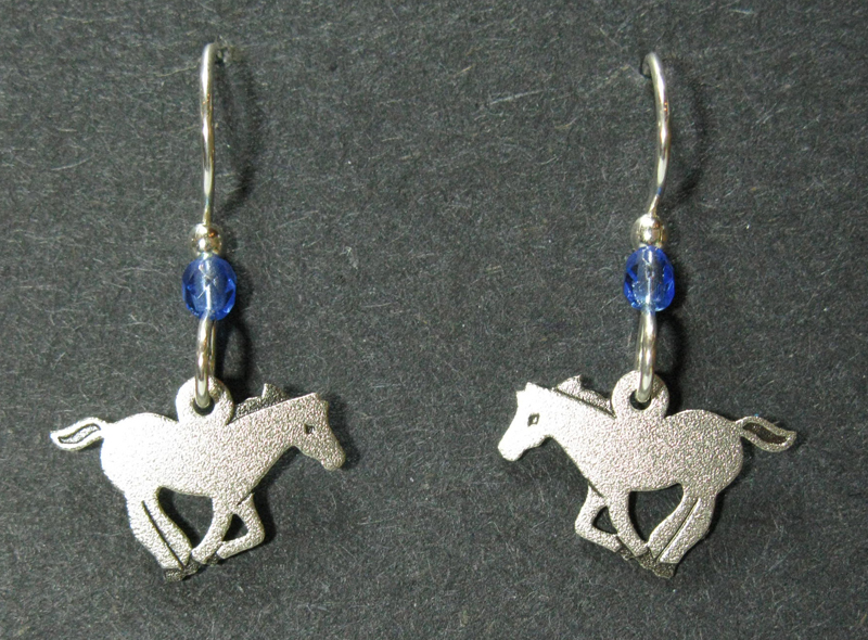 Galloping Horse Earrings