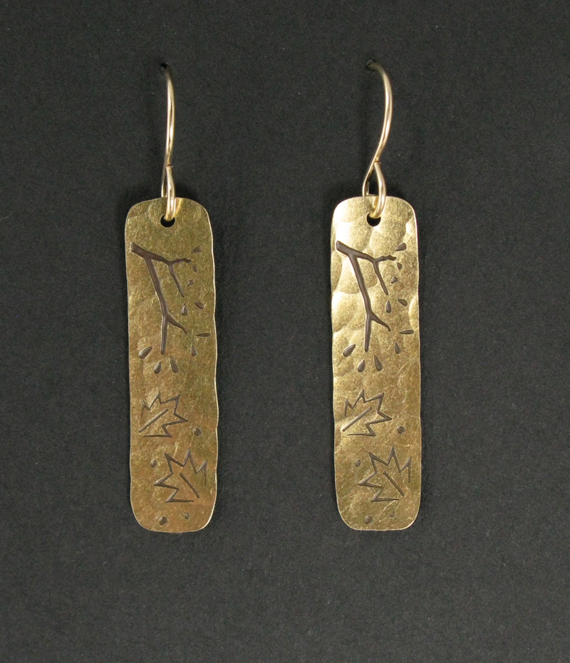 Tree Branch Earrings
