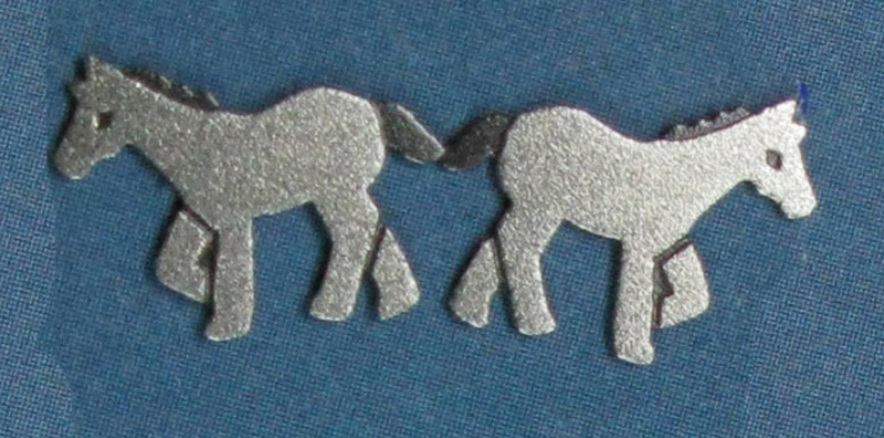 Pony Post Earrings