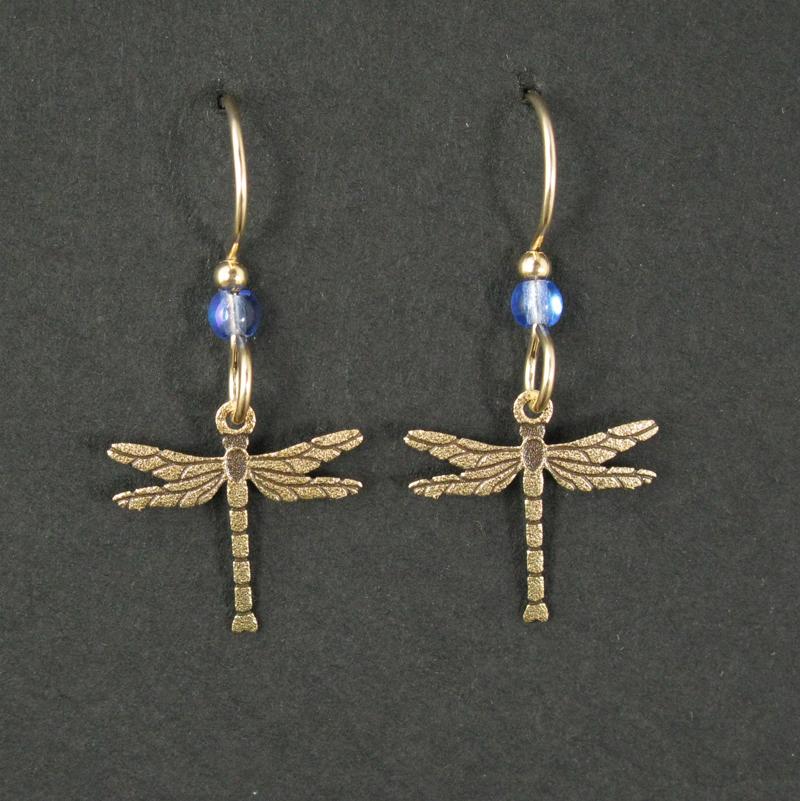 Small Dragonfly Earrings